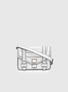 Proenza Schouler Optic White PS1+ Mini Crossbody Bag
