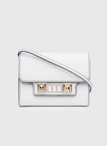 Proenza Schouler Optic White PS11 Wallet On A Strap Bag