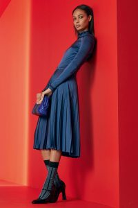 Bottega Veneta Blue Intrecciato Clutch Bag - Resort 2018