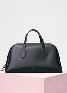 Celine Black Medium Bowling Bag