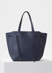 Celine Dark Blue Small Cabas Phantom Bag