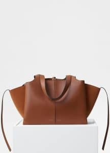 Celine Havana Small Tri-Fold Bag