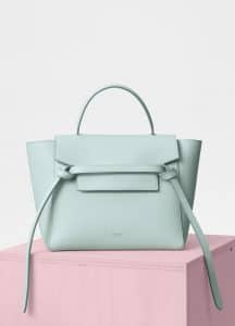 Celine Jade Grained Calfskin Micro Belt Bag