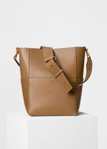 Celine Light Camel Seau Sangle Bag