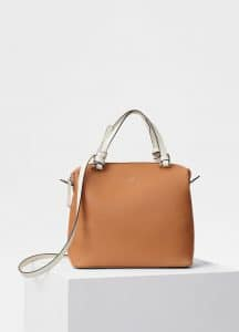 Celine Light Tan Small Soft Cube Bag