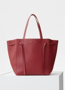 Celine Merlot Small Cabas Phantom Bag