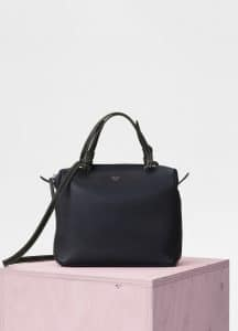 Celine Navy Blue Small Soft Cube Bag