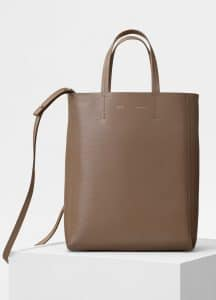 Celine Taupe Small Cabas Bag