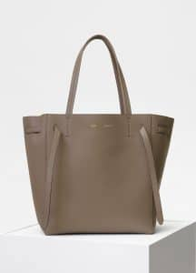 Celine Taupe Small Cabas Phantom Bag