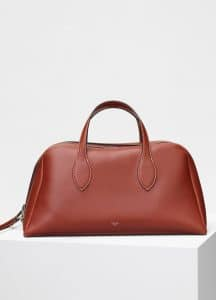 Celine Teck Medium Bowling Bag