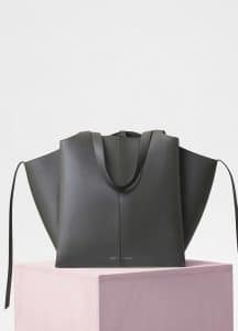 Celine Stone Vertical Tri-Fold Bag