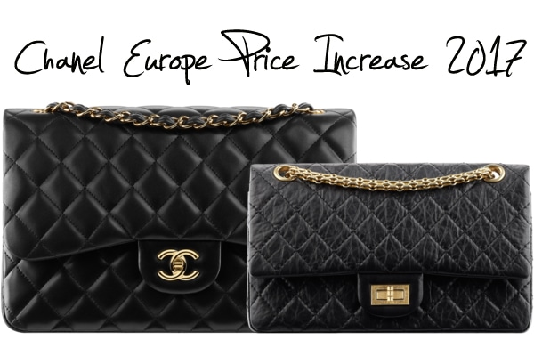 2eeca41fcae216 Chanel Bags Increase in Price for Europe as of May 2017 | Spotted ...