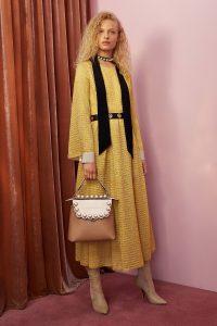 Fendi Beige/Sand Pearl Embellished Back To School Backpack Bag - Resort 2018