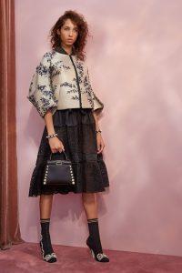 Fendi Black Pearl Embellished Mini Peekaboo Bag - Resort 2018