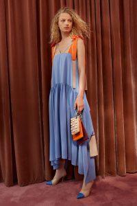 Fendi Burgundy/Orange/Beige Pearl Embellished Triplette Pouch Bag - Resort 2018