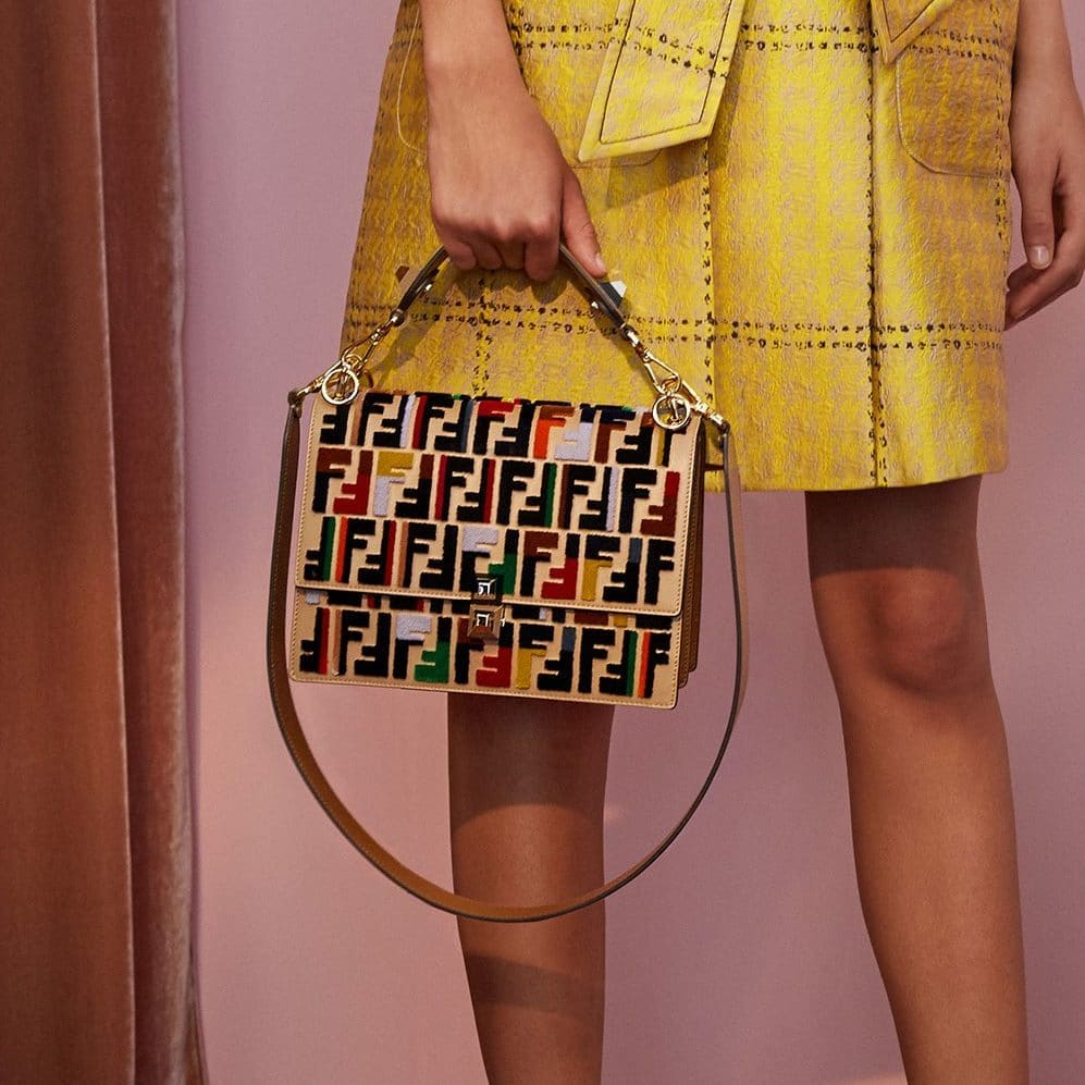 fendi resort 2018 bag collection featuring exotics