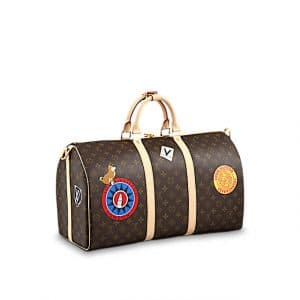 Louis Vuitton Keepall Bandouliere 50 My World Tour Bag 2