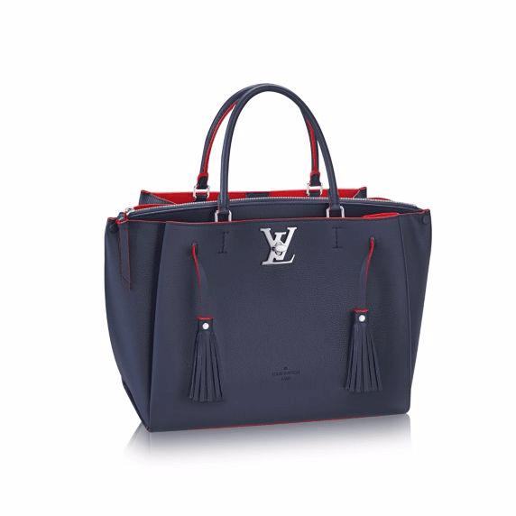 Louis Vuitton Marine Rouge Lockmeto Bag