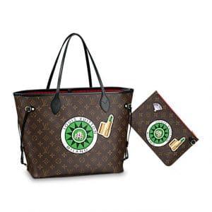 32aa244d115e ... Louis Vuitton Neverfull MM My World Tour Bag 2 Louis Vuitton Speedy  Bandouliere ...