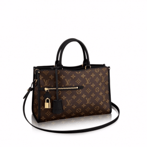 Louis Vuitton Noir Monogram Canvas Popincourt MM Bag