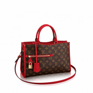 Louis Vuitton Red Monogram Canvas Popincourt PM Bag