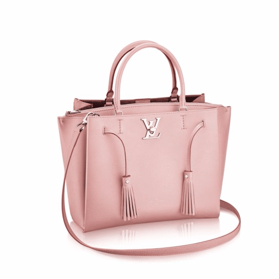 Louis Vuitton Rose Ballerine Lockmeto Bag