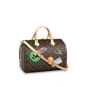 Louis Vuitton Speedy Bandouliere 30 My World Tour Bag 1