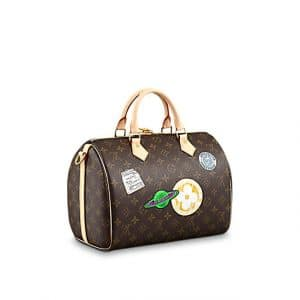 Louis Vuitton Speedy Bandouliere 30 My World Tour Bag 2