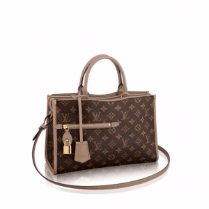 Louis Vuitton Taupe Glace Monogram Canvas Popincourt PM Bag