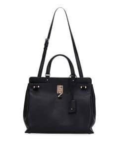 Valentino Black Joylock Medium Bag