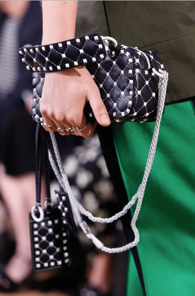 Valentino Resort 2018 Runway Bag Collection Spotted Fashion