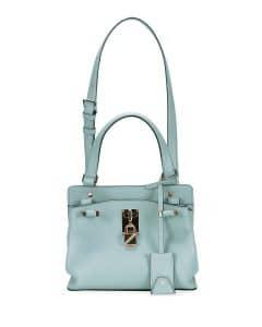 Valentino Blue Joylock Small Handle Bag