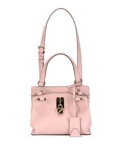 Valentino Pink Joylock Small Handle Bag