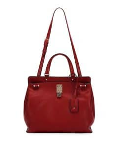 Valentino Red Joylock Medium Bag