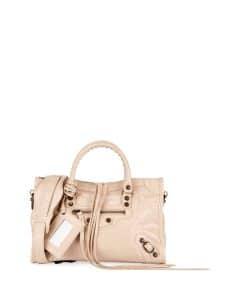 Balenciaga Beige Classic Small City Bag