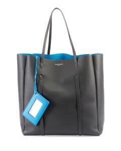 Balenciaga Black/Blue Everyday Tote Bag