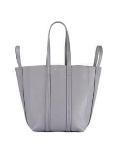 Balenciaga Gray Laundry Cabas S Bag
