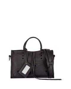 Balenciaga Noir Blackout Small City Bag