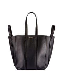 Balenciaga Noir Laundry Cabas S Bag