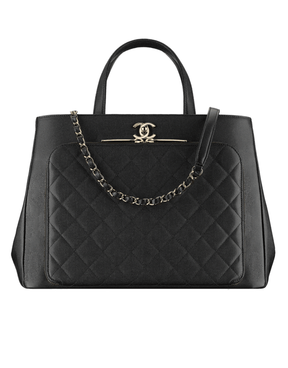 6c65f268a986 Chanel Fall Winter 2017 Act 1 Bag Collection Features Chevron Bags ...