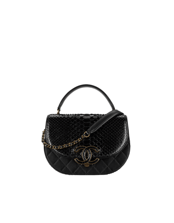05f5b6c2ce60 Chanel Fall/Winter 2017 Act 1 Bag Collection Features Chevron Bags ...