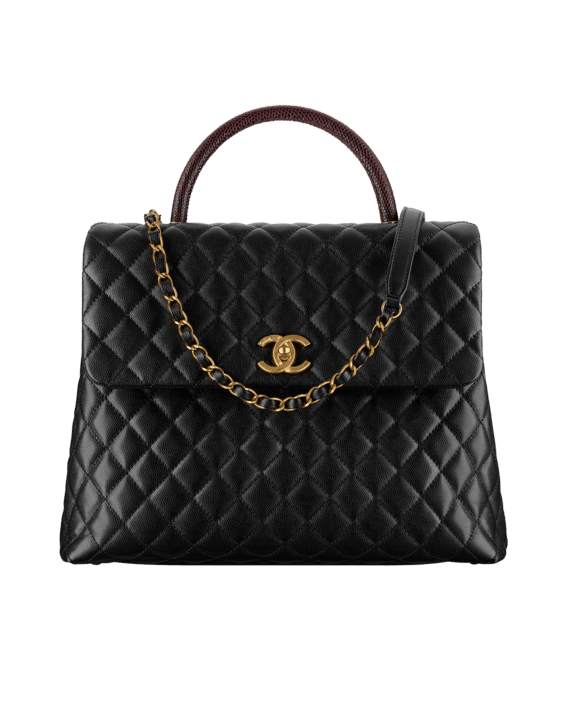 6481b6f3ba70ad Chanel Coco Handle Bag Reference Guide | Spotted Fashion