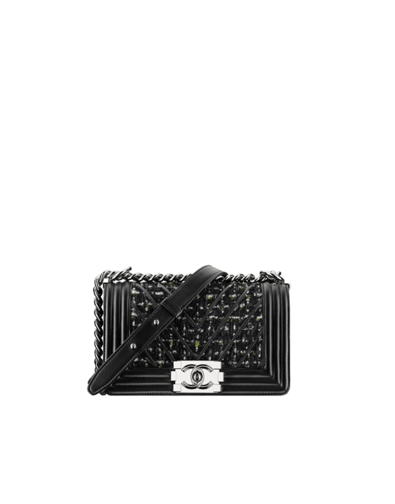 Chanel Fall Winter 2017 Act 1 Bag Collection Features Chevron Bags ... 950966cd8c