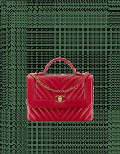 d45e0a40cb46 Chanel Fall/Winter 2017 Act 1 Bag Collection Features Chevron Bags ...
