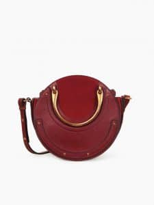 Chloe Sienna Red Small Pixie Bag