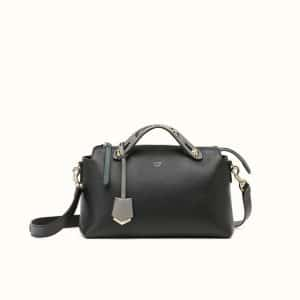 Fendi Black By The Way with Metal Chain Bag