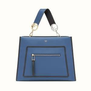 Fendi Blue Runaway Bag