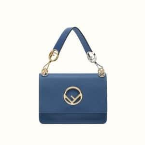 Fendi Dark Blue Kan I F Bag