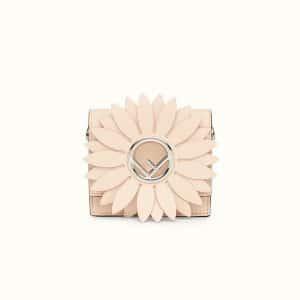 Fendi Pink Leather Micro Kan I F Bag