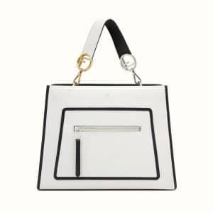 Fendi White Runaway Bag